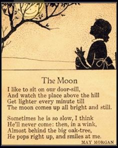 The Moon by May Morgan