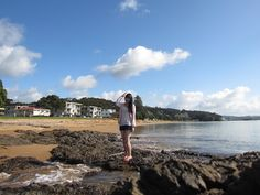 Bay of Islands – lonely walk on the beach