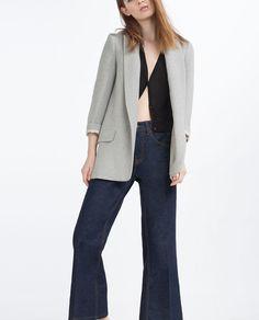 LONG BLAZER from Zara, $99.90