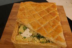 Torta de Ervilha com Batata e Queijo Cottage | Receitas | Dia Dia