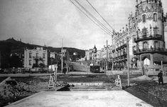 """1919 - A la derecha el Hotel Metropolitan """"La Rotonda"""" BARCELONA, AHORA Y SIEMPRE: AVINGUDA TIBIDABO"""