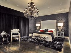 Transitional Bedrooms from Tobi Fairley : Designers' Portfolio 5700 : Home & Garden