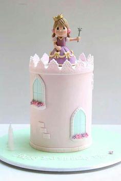 Princess Castles Cake