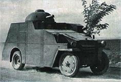 Crossley armored car Hungarian army post WW I Armored Vehicles, Armored Car, Army Post, Armoured Personnel Carrier, Modern Warfare, Skin So Soft, Car Photos, World War I, Fiat