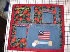 Fidget Blanket with a Farmers theme by JandJblankiesandETC on Etsy