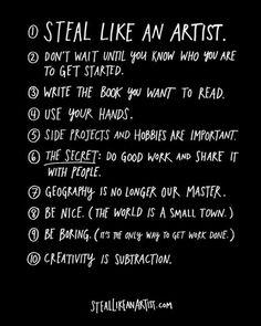 Steal like an artist!