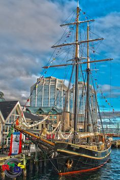 STV Unicorn Tall Ship by Rodney Hickey Design Studio, via Flickr