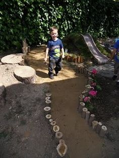 let the children play: Ideas for adding natural elements to your outdoor play space - Part 2