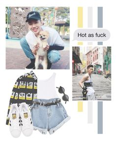 """""""Jay Park"""" by lazy-alien ❤ liked on Polyvore featuring adidas Originals, JayPark, aomg and ParkJaeBeom"""