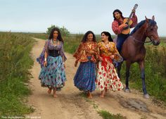 Traditional Gypsy dress