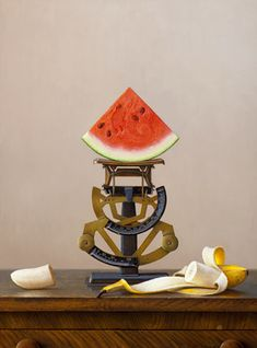 Scott Fraser, contemporary realist, can be found in private and museum collections around the country. Hyperrealism, Photorealism, Painting & Drawing, Watercolor Paintings, Sweet Watermelon, Pastel Pencils, Realism Art, Culinary Arts, Creative Inspiration