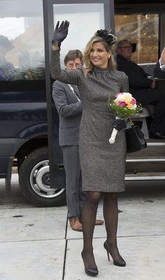 ♥•✿•QueenMaxima•✿•♥King Willem-Alexander and Queen Maxima of the Netherlands Visit Former Mining Region - Zimbio