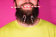 """""""Holly Jolly""""  #earrings #candycane #statementjewelry #beard #fashion #glitter Beard Fashion, Statement Jewelry, Candy Cane, Babe, Glitter, Sugar, Hair Styles, Beauty, Collection"""