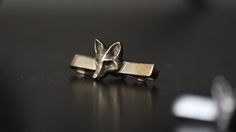 The Fox Club Brass Tie Bar #TiePin #TieBar #Brass #TheFoxClub #Jewellery #GiftForHim #GroomsmenGifts