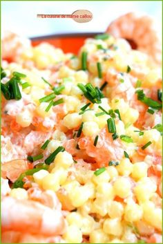 Perles en salade de la mer Perfect Beard, Beer Opener, Tasty, Yummy Food, Tupperware, Food Videos, Buffet, Risotto, Entrees