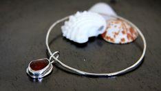 Sea glass bangle bracelet sea glass bangle by HollyMackDesigns