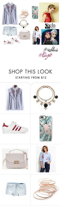 """""""Untitled #821"""" by alinaa191 ❤ liked on Polyvore featuring WithChic, Mawi, adidas, Casetify, American Eagle Outfitters and Red Camel"""