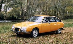 1970 Citroen GS      Mijn eerste auto!!