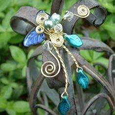 Ice Princess Elven Forest Ear Cuff by Thyme2dream on Etsy