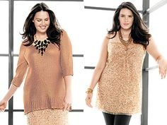 To this tune, here is a compiled list of top fashion tips for plus-size divas…