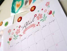 5 calendarios y agendas 2015 listos para imprimir y regalar