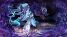LoL - Kindred, Eternal Hunters by Kastraz.deviantart.com on @DeviantArt