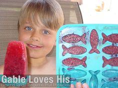 Matt Tokoph - Youngevity, Gable loves his Tangy Tangerine Popsicles :)