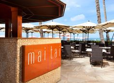 Mai Tai Bar in the Royal Hawaiian Hotel! Absolutely best Mai Tai served here. Ask for Mai Tai with made with fresh lime juice.