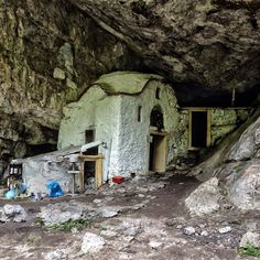 Living Place, Caves, Olympus, Temple, Greece, Mountain, Sea, House Styles, Instagram