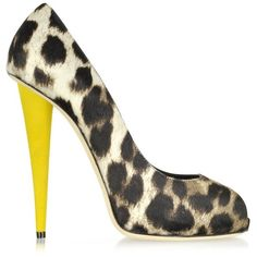 Giuseppe Zanotti Shoes Naomi Animal Print Open Toe Platform Pump and other apparel, accessories and trends. Browse and shop related looks.