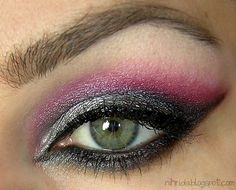 I could do this with my Urban Decay Rollergirl palette.