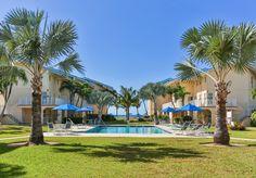 Cayman Reef Resort View from Pool to Ocean Wedding Memorial, Grand Cayman, Ocean, Memories, Vacation, Mansions, House Styles, Places, Memoirs