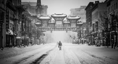 ✳ Winter snow street chinatown - new photo at Avopix.com    📷 https://avopix.com/photo/36917-winter-snow-street-chinatown    #city #architecture #sky #building #urban #avopix #free #photos #public #domain