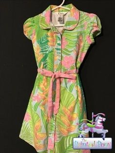 Colorful dress by Lilly Pulitzer, size 4, $18.99