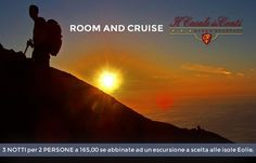"""OFFER """"ROOM AND CRUISE""""  3 nights for 2 PEOPLE to 165.00/180.00 (mid / high season) when combined with an excursion to  either the Aeolian Islands."""