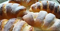 Recept na rýchle kysnuté rohlíčky plnené vanilkovým pudingom. Ale rovnako chutné budú aj makové, orechové, tvarohové alebo jablkové. Mňam! Postup, návod