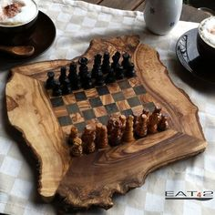 6 Amazing Chess Tables