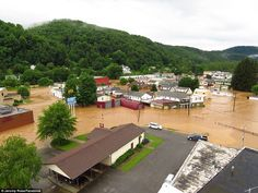 Governor Tomblin said that some areas had experienced flooding that was the worst the stat...