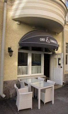 Restaurant Chef et Sommelier, Helsinki - probably the best restaurant in Finland. They have vegetarian menu too and you can have it veganized by asking in advance.