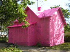Team Olek Our Pink House
