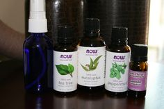 Another DIY Poopouri spray: 2 oz spray bottle, distilled water, 20 drops peppermint oil, 10 drops eucalyptus oil, 5 drops lavender oil, 3 drops tea tree oil