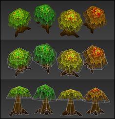單片貼圖香菇樹