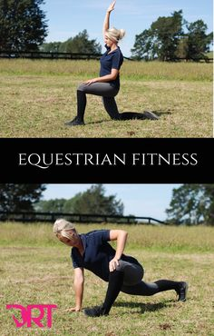 Improve your riding off the horse. Exercises, videos and articles to help you improve your rider fitness.