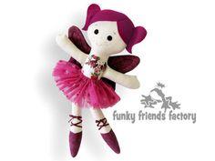 Doll Sewing Pattern Sugar Plum Fairy Ballerina PDF INSTANT DOWNLOAD  Sugar Plum Fairy Ballerina Finished Toy Size: 17 / 43cm    I am so