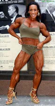Apologise, denise masino a girl her dog and a bone female bodybuilder really