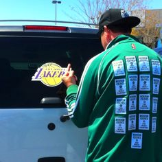 Boston Celtics fan