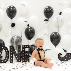 Birthday Cake Smash Outfit Photo Shoot Gold Black or Navy and White Tuxedo L. Birthday Cake Smash Outfit Photo Shoot Gold Black or Navy and White Tuxedo Little Man Mr. Boys First Birthday Party Ideas, 1st Birthday Cake Smash, Baby Boy First Birthday, First Birthday Photos, Birthday Parties, Mustache First Birthday, 1st Birthday Boy Themes, 1st Birthday Photoshoot, Photoshoot Themes