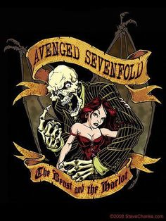 Avenged Sevenfold Art ☠️