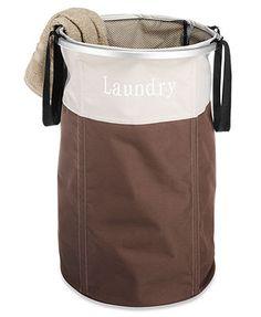 "Whitmor Java \""Laundry\"" Hamper, Portable"