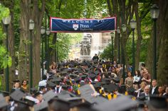 We're proud to watch our Penn students become Penn graduates!